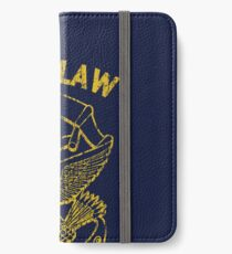 I Am the Law iPhone Wallet/Case/Skin