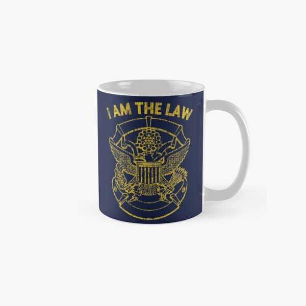 I Am the Law Classic Mug