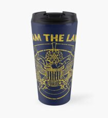I Am the Law Travel Mug