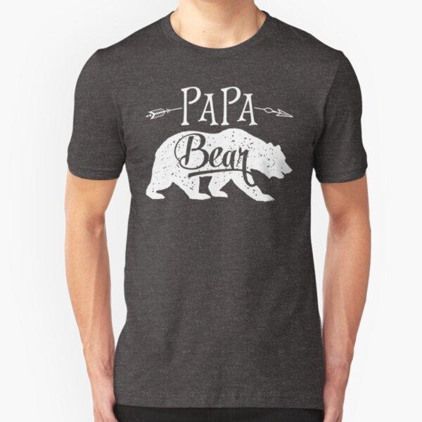 Papa Bear T-shirt Slim Fit T-Shirt