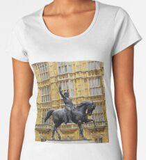 """LIONHEART"" London, England Women's Premium T-Shirt"