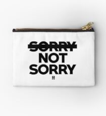 Not sorry Studio Pouch