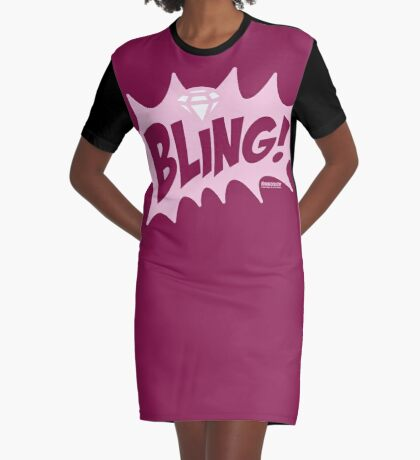 Bubba Loon™—Bling! Graphic T-Shirt Dress