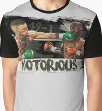 McGregor Mayweather Brushstroke KO Graphic T-Shirt