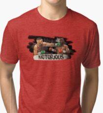McGregor Mayweather Brushstroke KO Tri-blend T-Shirt