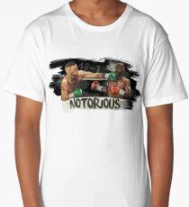 McGregor Mayweather Brushstroke KO Long T-Shirt