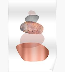 Blush and Copper Balance Poster