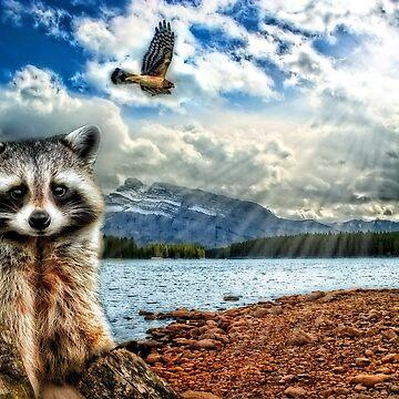 Woodland Creatures by SalonOfArt