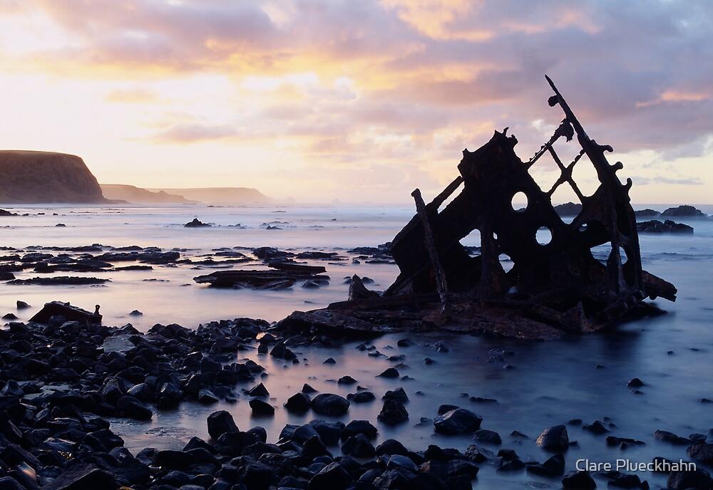 Ship Wreck by Clare Plueckhahn