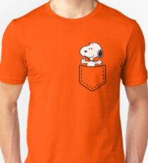 Pocket Snoopy Dog T-Shirt
