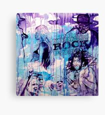 ROCK - WARNER DRIVE Canvas Print