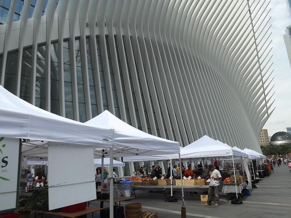 Greenmarket, Lower Manhattan, New York City by lenspiro
