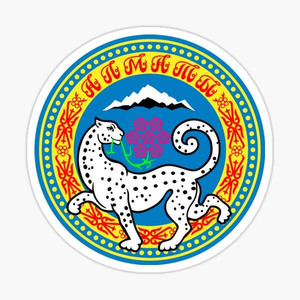 Almaty, Kazakhstan Sticker