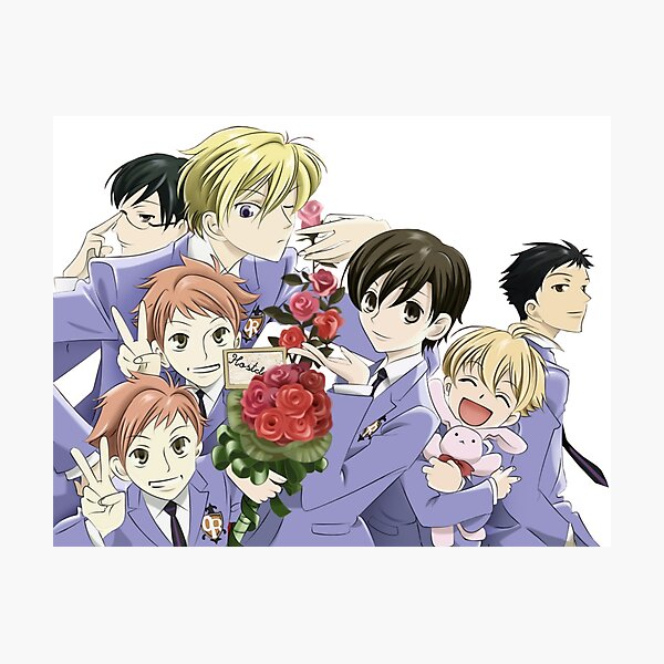 Ouran Host Club Photographic Print