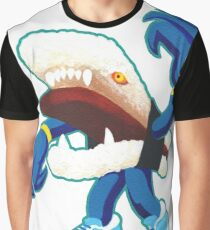 Spam Musubi Kaiju Monster Graphic T-Shirt