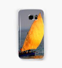 Dhow on the ocean Samsung Galaxy Case/Skin