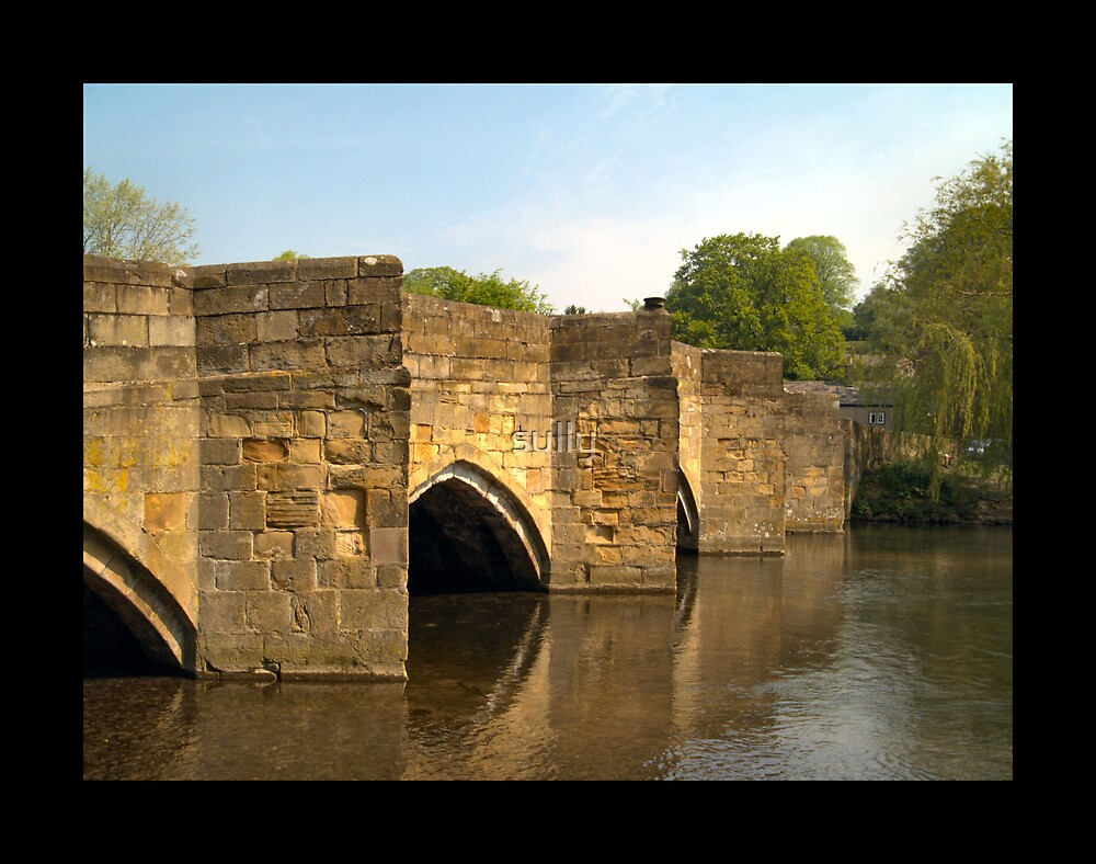 bakewell bridge by sully