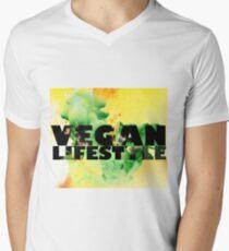 Vegan Lifestyle Men's V-Neck T-Shirt