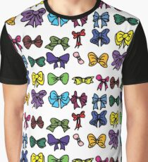 Cute Bow Collection Graphic T-Shirt