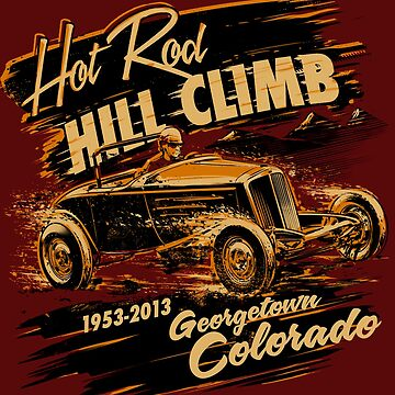 Hot Rod Hill Climb Georgetown Colorado by huettemailly
