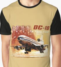 DC-10 FLYING LEGEND Graphic T-Shirt