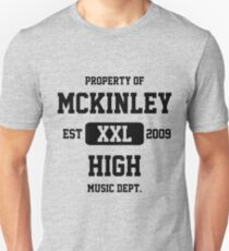 Property of McKinley High Music Department - Glee Unisex T-Shirt