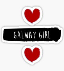 ed sheeran Galway Girl design - Blues song Sticker