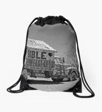 Desert Message Drawstring Bag