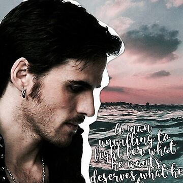 Captain Hook (man unwilling to fight for what he wants) edit by Emily-Desgins