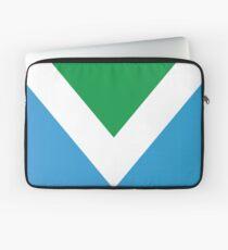 International Vegan Flag Laptop Sleeve