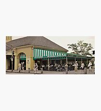 The Cafe Photographic Print