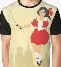 Skipping Girl Graphic T-Shirt