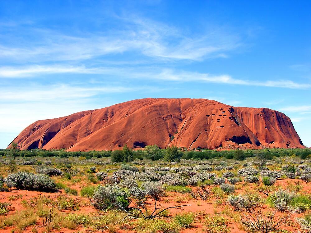 Ayres Rock / Uluru, Northern Territory, Australia by Peter Clements