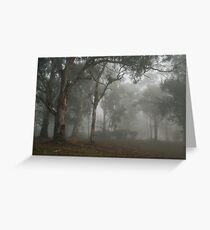 Trees in the Mist - Blakiston Greeting Card