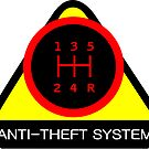 Anti-Theft System (Pattern 1) (dark) by ShopGirl91706