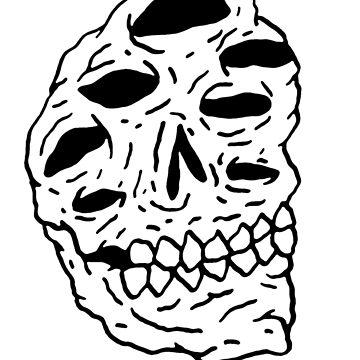 alien skull by goatgraff