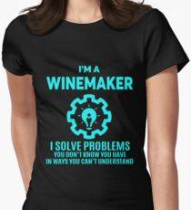 WINEMAKER - NICE DESIGN 2017 Women's Fitted T-Shirt