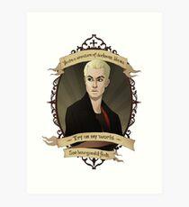 Spike - Buffy the Vampire Slayer/Angel Art Print