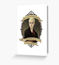 Spike - Buffy the Vampire Slayer/Angel Greeting Card