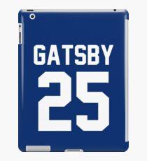 """Jay Gatsby """"25"""" Jersey iPad Case/Skin"""