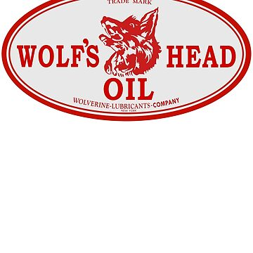 Wolf's Head Oil Shirt by PumpingGas