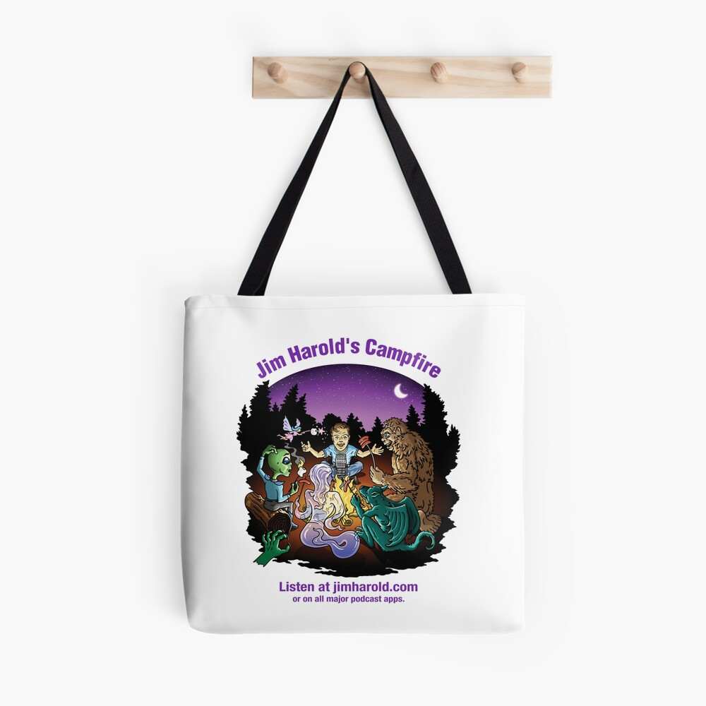 Around The Campfire - Clothing Tote Bag
