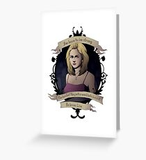 Buffy - Buffy the Vampire Slayer Greeting Card