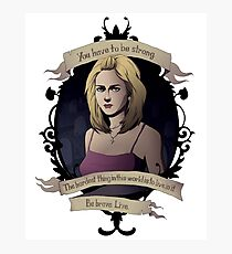 Buffy - Buffy the Vampire Slayer Photographic Print