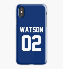 "John Watson ""02"" Jersey iPhone Case/Skin"