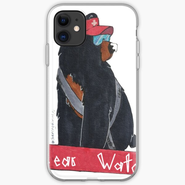 BEAR+WATCH iPhone Soft Case