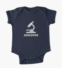 Funny Biology Microscope T-Shirt  Kids Clothes
