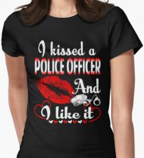 I Kissed A Police Officer And I Like It T-Shirt T-Shirt