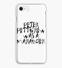 Peter Pettigrew iPhone Case/Skin