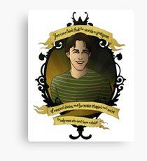 Xander - Buffy the Vampire Slayer Canvas Print
